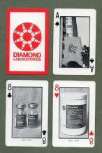Collectible Advertising playing cards Diamond Labs